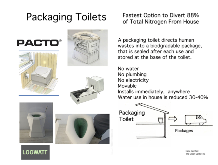 Packaging Toilet