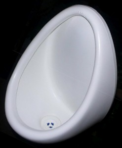 Urinal w- EES valve