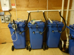 On-site secondary composting in a Full Circle system